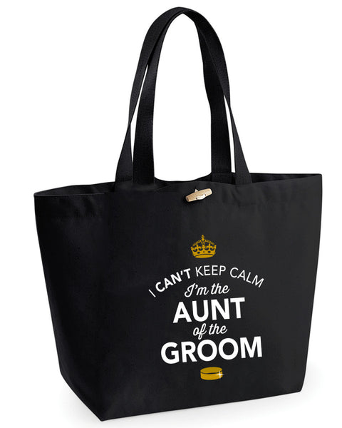 Aunt Of The Groom, Hen Party, Bachelorette Party, Hen Party Bag, Aunt Of The Groom gifts, Hen Do Gifts, Ideas For Groom, Groom present, Shopping Bag, StepMum Of The Groom Bag, Tote Bag, Hen Party Gift Bag, Groom keepsake, Team Groom