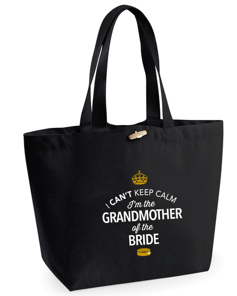 Grandmother Of The Bride, Hen Party, Bachelorette Party, Hen Party Bag, Grandmother Of The Bride gifts, Hen Do Gifts, Ideas For Bride, Bride present, Shopping Bag, Grandmother Of The Bride Bag, Tote Bag, Hen Party Gift Bag, Bride keepsake, Team Bride