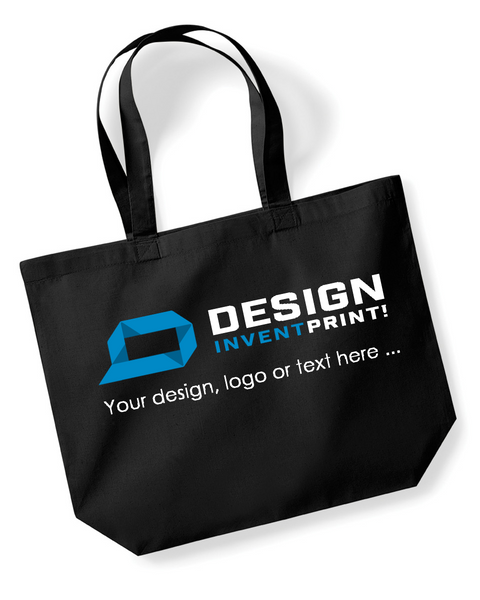 Custom Print Promotional Tote, Printed With Your Design