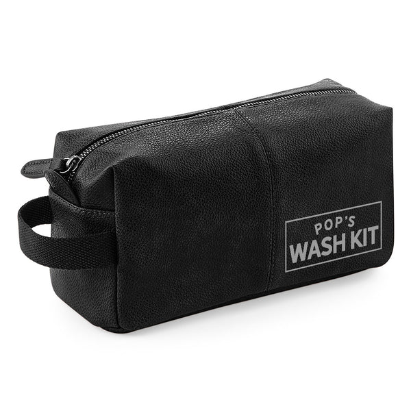 Pop's Wash Bag Gift, Best Pop's, For Birthday, Christmas, Pop's's Day, Fantastic Quality Usable Keepsake
