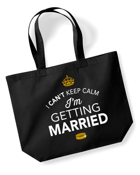 I'm Getting Married, Hen Party, Bachelorette Party, Hen Party Bag, I'm Getting Married gifts, Hen Do Gifts, Ideas For Bride, I'm Getting Married present, Shopping Bag, I'm Getting Married Bag, Team Bride