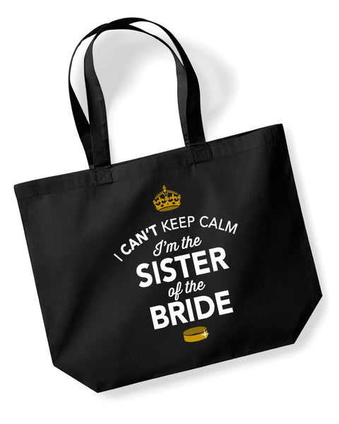 Sister Of The Bride, Hen Party, Bachelorette Party, Hen Party Bag, Sister Of The Bride gifts, Hen Do Gifts, Ideas For Bride, Bride present, Shopping Bag, Sister Of The Bride Bag, Tote Bag, Hen Party Gift Bag, Bride keepsake, Team Bride