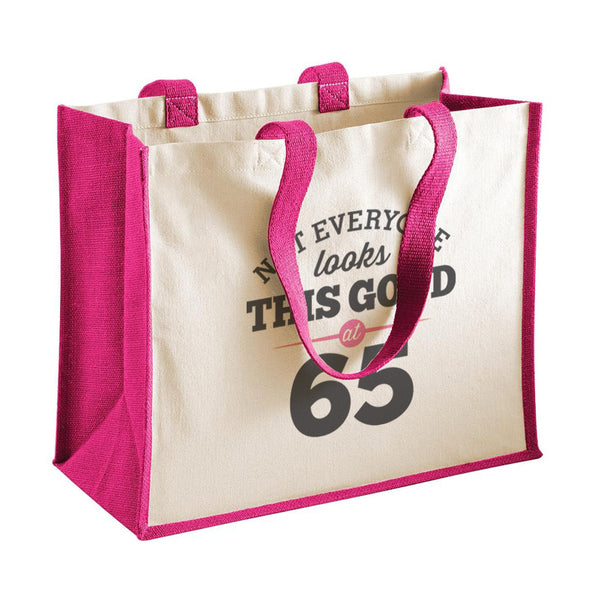65th Birthday Bag, Gift, Womens Bag, Ladies Shopping Bag, Tote Bag, Keepsake