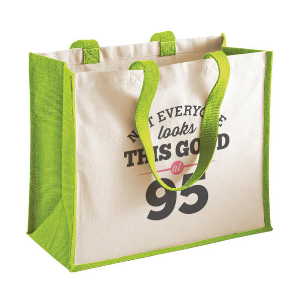 95th Birthday Bag, Gift, Womens Bag, Ladies Shopping Bag, Tote Bag, Keepsake
