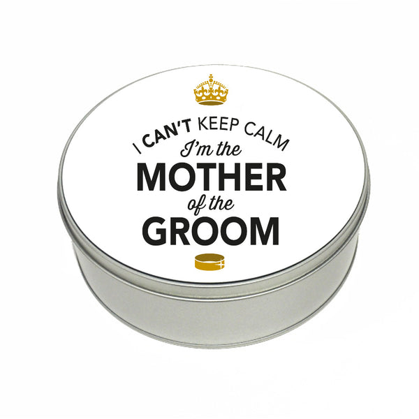 Mother Of The Groom Wedding Gift Box Present Idea Keepsake Tin Hen Do Night Party