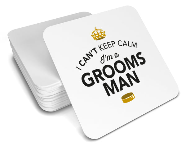 Groomsman, Keepsake, Wedding Gift Idea, High Gloss Drinks Coaster