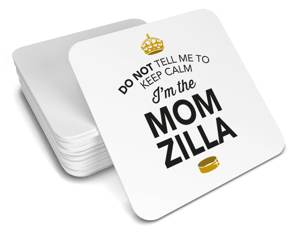 Momzilla, Keepsake, Wedding Gift Idea, High Gloss Drinks Coaster