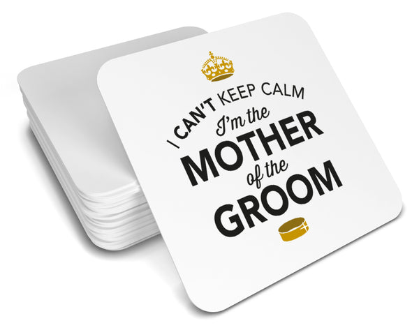 Mother of the Groom, Keepsake, Wedding Gift Idea, High Gloss Drinks Coaster