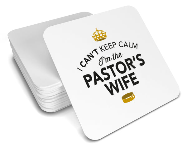 Pastor's wife, Keepsake, Wedding Gift Idea, High Gloss Drinks Coaster