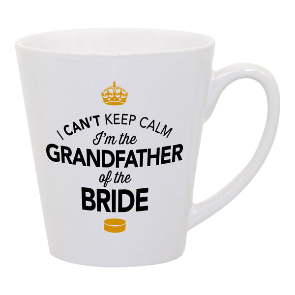 Grandfather of The Bride, Wedding Latte Mug, Brides Grandfather, Brides Grandfather Gift, Grandfather, Grandfather of the Bride,  Wedding Ideas