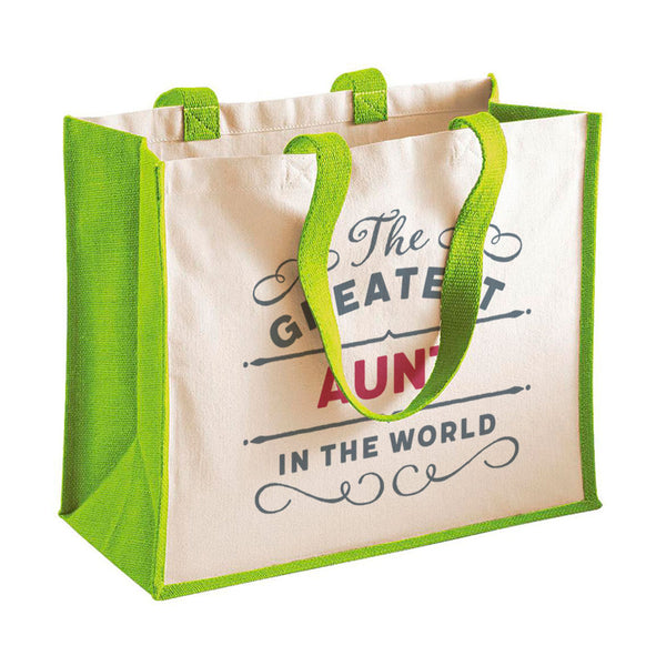 Aunt Gift, Aunt Birthday or Christmas Bag, Personalised Aunt Gift, Present, Funny Gift From Daughter, Keepsake, Tote, Shopping Bag