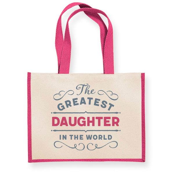 Daughter Gift, Daughter Birthday or Christmas Bag, Personalised Daughter Gift, Present, Funny Gift From Daughter, Keepsake, Tote, Shopping Bag