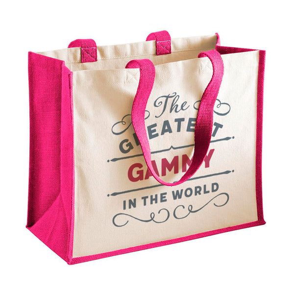 Gammy Gift, Gammy Birthday or Christmas Bag, Personalised Gammy Gift, Present, Funny Gift From Gammy, Keepsake, Tote, Shopping Bag