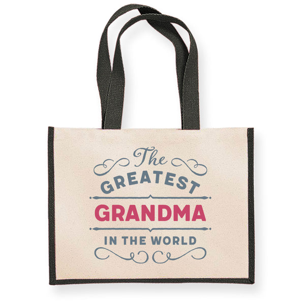 Grandma Gift, Grandma Birthday or Christmas Bag, Personalised Grandma Gift, Present, Funny Gift From Grandma, Keepsake, Tote, Shopping Bag