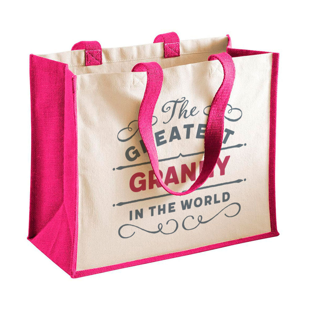 Granny Gift, Granny Birthday or Christmas Bag, Personalised Granny Gift, Present, Funny Gift From Granny, Keepsake, Tote, Shopping Bag