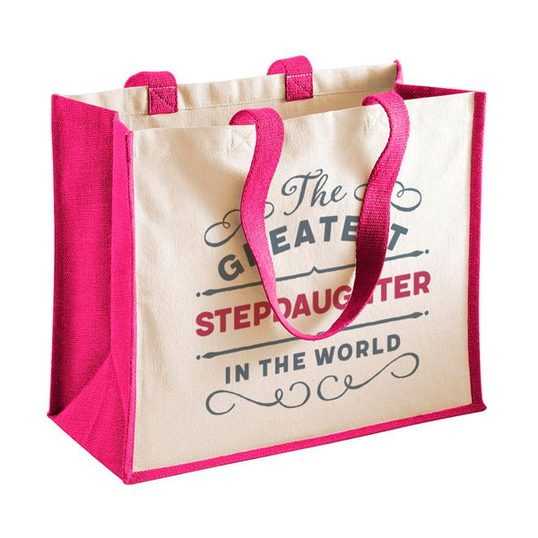 Stepdaughter Gift, Stepdaughter Birthday or Christmas Bag, Personalised Stepdaughter Gift, Present, Funny Gift From Stepdaughter, Keepsake, Tote, Shopping Bag