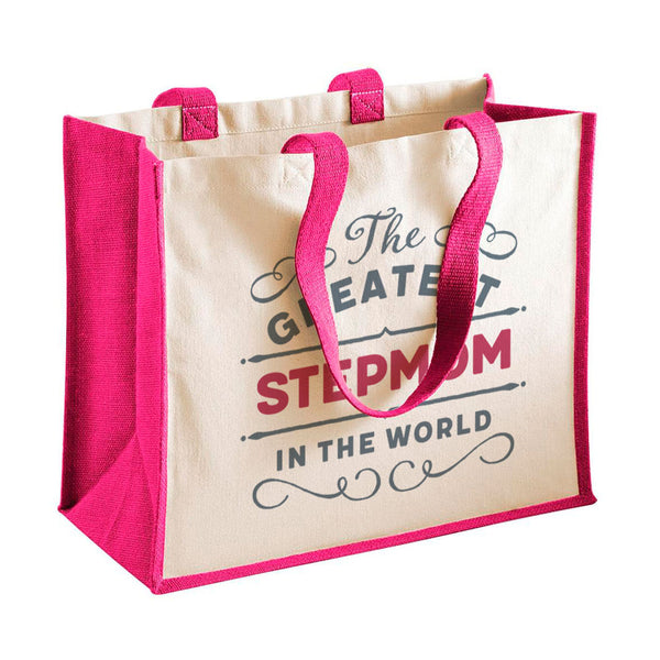 Stepmom Gift, Stepmom Birthday or Christmas Bag, Personalised Stepmom Gift, Present, Funny Gift From Stepmom, Keepsake, Tote, Shopping Bag