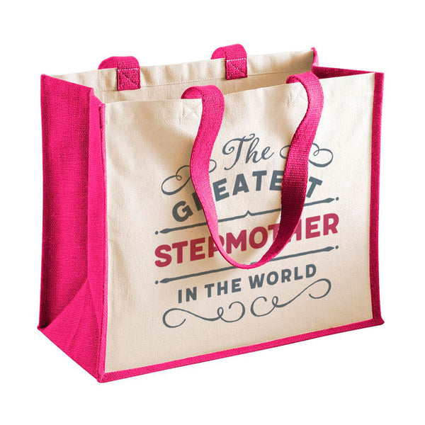 Stepmother Gift, Stepmother Birthday or Christmas Bag, Personalised Stepmother Gift, Present, Funny Gift From Stepmother, Keepsake, Tote, Shopping Bag