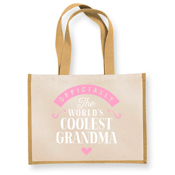 Grandma Gift, Grandma Birthday Bag, Personalised Grandma Present, Grandma Bag, Funny Gifts, Grandma Gifts Keepsake, Tote, Shopping Bag