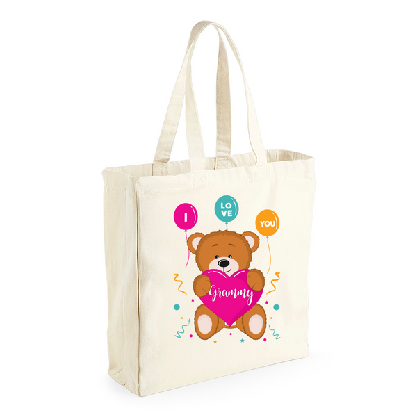 Grammy Gift, Grammy  Birthday Bag, Keepsake, Tote, Shopping Bag