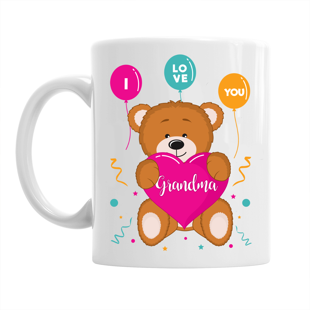 Grandma Gift Mug Birthday For I Love You Grand Design Invent Print