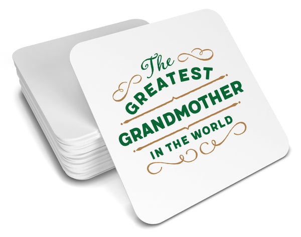 Greatest Grandmother Gift, Grandmother Coaster, Birthday Gift For Grandmother! Grandmother Present, Grandmother Birthday Gift!
