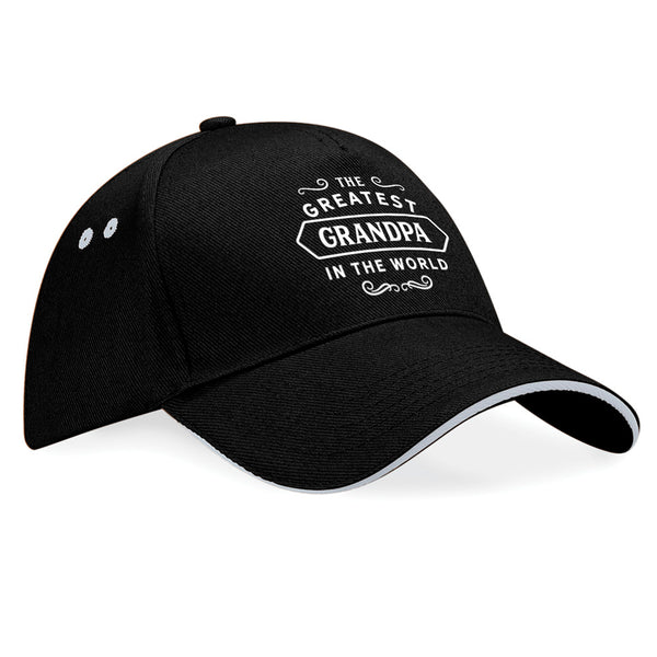Grandpa Birthday or Christmas Hat, Birthday Gift, Present, Gifts For Her, Worlds Greatest Grandpa, Baseball cap