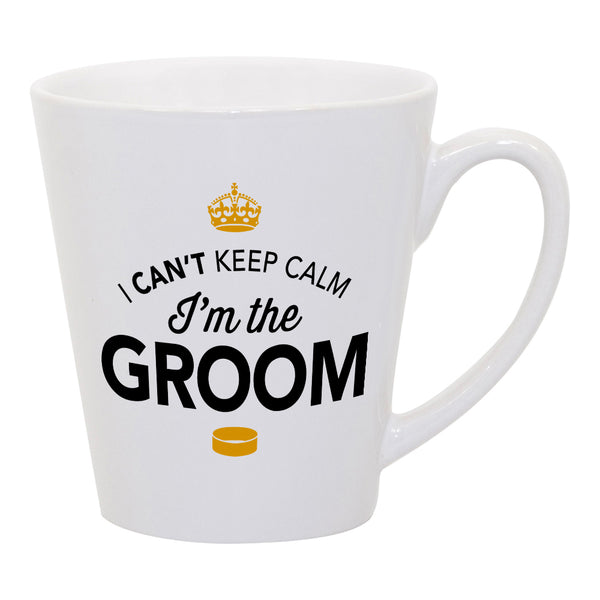 Groom Gift, Groom Latte Mug, Bachelor Party, Groom To be, Alternative Groom Glass, Bachelor Party Gift, Wedding Idea, Keep Calm Groom Mug