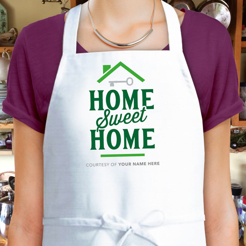 Housewarming Gift, Home Sweet Home Kitchen Apron