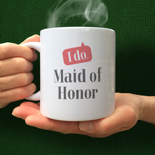 Maid Of Honor Gifts Wedding, Maid Of Honor Gift ideas, Maid Of Honor Mug, Maid Of Honor Wedding Gift