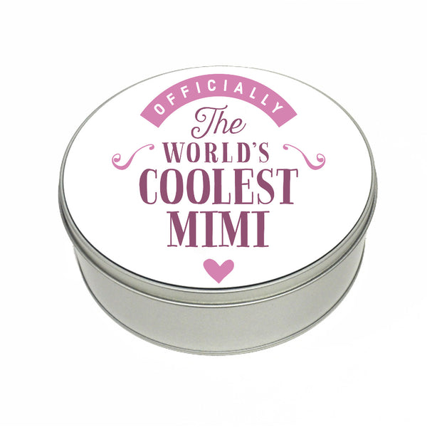 Mimi Gift, Coolest Ma, Perfect Mimi Christmas Present or Birthday Tin