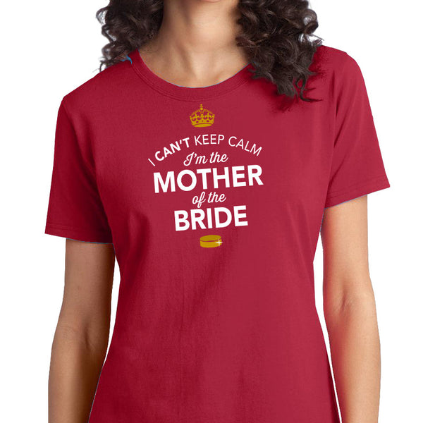 Mother of The Bride, Brides Mom Shirt, Mother of the Bride, Wedding Shirt