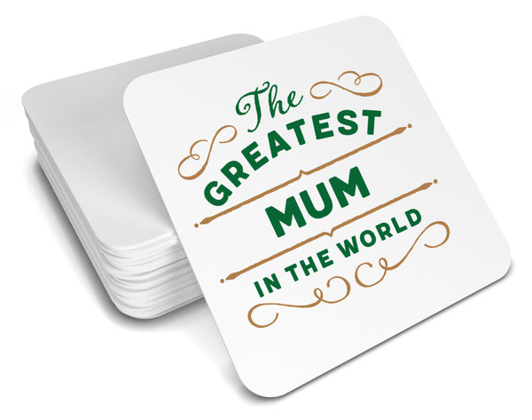 Mum Gift, Greatest Mum, Mum Coaster, Birthday Gift For Mum! Mum Present, Mum Birthday Gift, Gift For Mum!