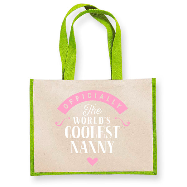 Nanny Gift, Nanny Birthday Bag, Personalised Nanny Gift, Nanny Present, Nanny Bag, Great Nanny Gifts, Nanny Funny Gifts, Nanny Gifts From Daughter, Nanny Keepsake, Tote, Shopping Bag