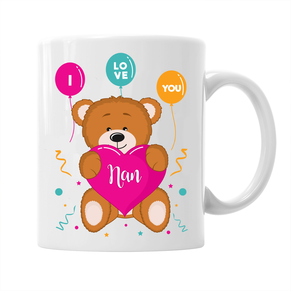 Nan Gift Mug Birthday For I Love You