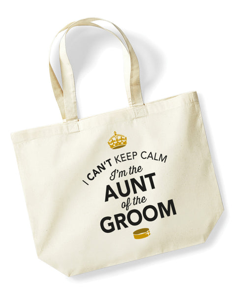 Aunt Of The Groom, Stag Party, Bachelorette Party, Stag Party Bag, Aunt Of The Groom gifts, Stag Do Gifts, Ideas For Groom, Groom present, Shopping Bag, Aunt Of The Groom Bag, Tote Bag, Stag Party Gift Bag, Groom keepsake, Team Groom