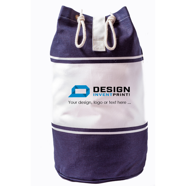 Custom Print Promotional or Gift Duffle Bag