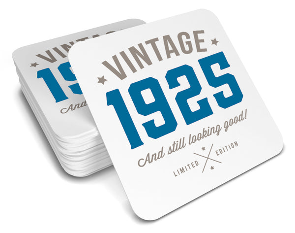 95th Birthday,  Drinks Coaster, Birthday, 95th Birthday Gift, 95th Birthday Idea