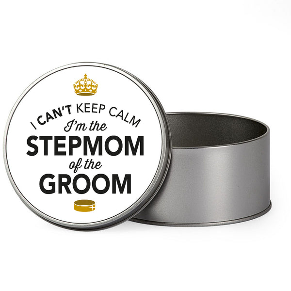 Stepmom Of The Groom Wedding Gift Box Present Idea Keepsake Tin Hen Do Night Party