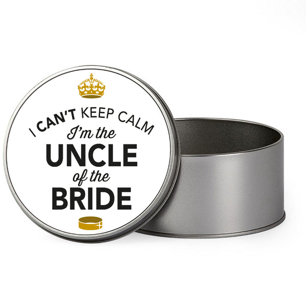 Uncle Of The Bride Wedding Gift Box Present Idea Keepsake Tin Stag Do Night Party
