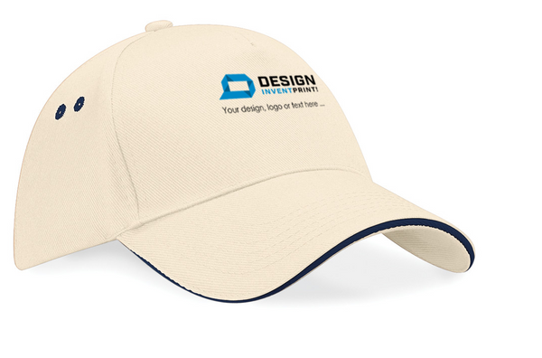 Custom Print Promotional Baseball Cap, Printed With Your Design