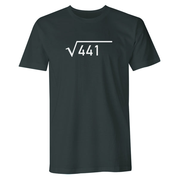 Men's 21st Birthday T Shirt Gift - Square Root