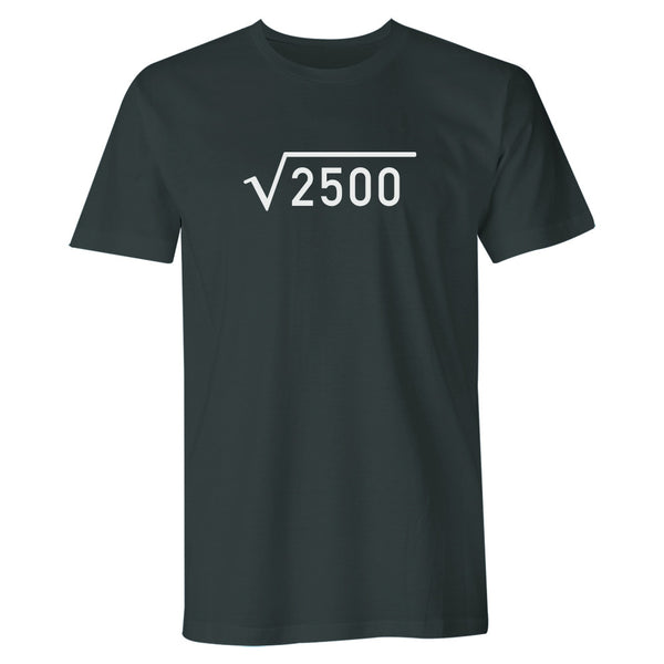 Men's 50th Birthday T Shirt Gift - Square Root
