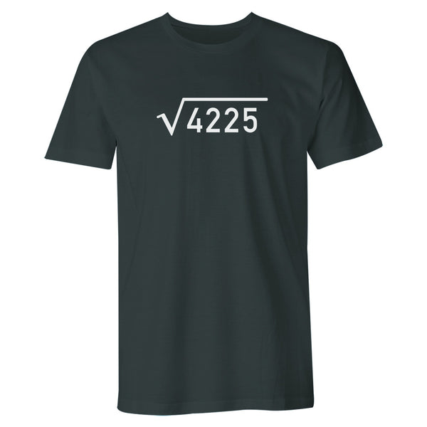Men's 65th Birthday T Shirt Gift - Square Root
