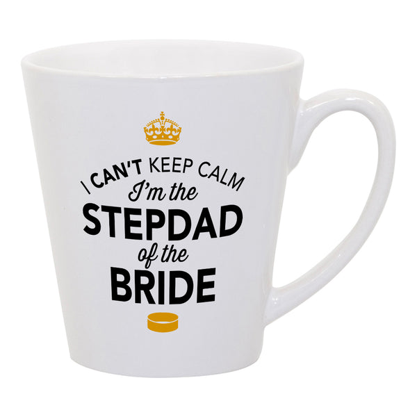 Stepdad of The Bride, Step Dad Wedding Latte Mug, Brides Stepdad, Brides Stepdad Gift, Stepdad, Brides Stepdad, Stepdad of the Bride