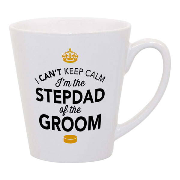 Stepdad of The Groom, Step Dad Wedding Latte Mug, Groom Stepdad, Groom Stepdad Gift, Stepdad, Groom Stepdad, Stepdad of the Groom