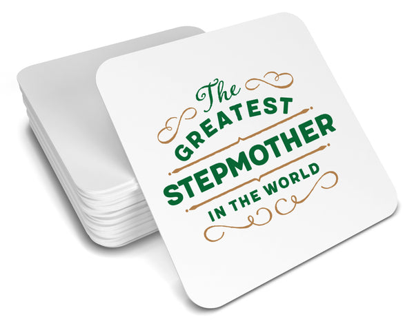 Greatest Stepmother Gift, Stepmother Coaster, Birthday Gift For Stepmother ! Stepmother Present, Stepmother Birthday Gift!
