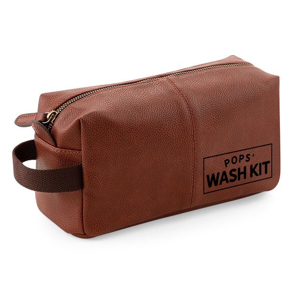 Pops Wash Bag Gift, Best Pops, For Birthday, Christmas, Pops's Day, Fantastic Quality Usable Keepsake