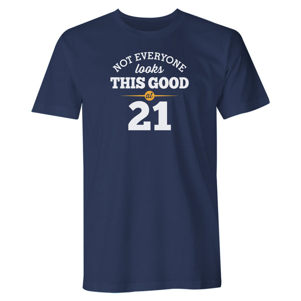 Men's 21st Birthday T Shirt Gift - Looking Good
