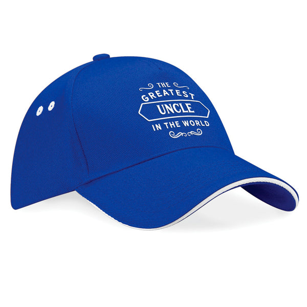 Uncle Birthday or Christmas Hat, Birthday Gift, Present, Gifts For Her, Worlds Greatest Uncle, Baseball cap